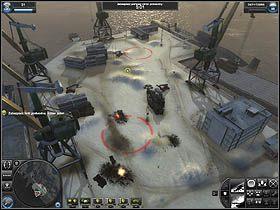 1 - Misja 9 - Legowisko niedźwiedzia - Solucja - World in Conflict - poradnik do gry