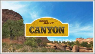 1 - Canyon - Trasy - Sega Rally - poradnik do gry