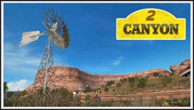 3 - Canyon - Trasy - Sega Rally - poradnik do gry