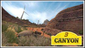 4 - Canyon - Trasy - Sega Rally - poradnik do gry
