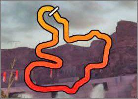 Pora dnia: zmierzch - Canyon - Trasy - Sega Rally - poradnik do gry