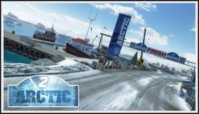 3 - Arctic - Trasy - Sega Rally - poradnik do gry