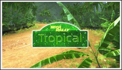1 - Tropical - Trasy - Sega Rally - poradnik do gry