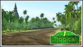 2 - Tropical - Trasy - Sega Rally - poradnik do gry