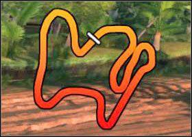 Pora dnia: świt - Tropical - Trasy - Sega Rally - poradnik do gry