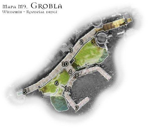 1 - M9: Grobla - Mapa - Wied�min - poradnik do gry