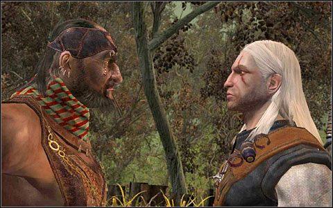 Gdy będziesz leżał nieprzytomny pod wieżą, w Lesie na bagnach odbędzie się bitwa pomiędzy Zakonem a Scoiatael, którą wygra Zakon - Zadania główne (2) | Rozdział 2 - Wiedźmin - poradnik
