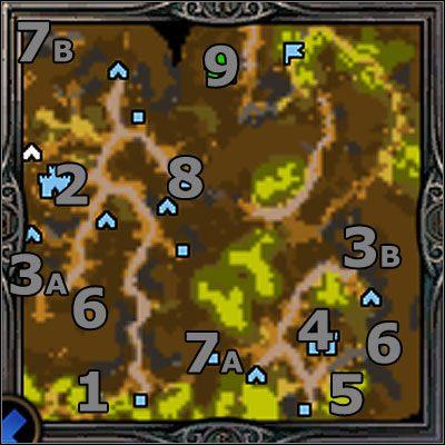 Misja rozpoczyna si� w lewym dolnym rogu ekranu (1) - Misja 1 - Last Soul Standing - Kampania 2 - Heroes of Might & Magic V: Dzikie Hordy - poradnik do gry