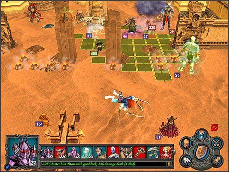 Moje wojska w ostatecznym natarciu :-). - Misja 2 - The Grim Crusade - Kampania 2 - Heroes of Might & Magic V: Dzikie Hordy - poradnik do gry
