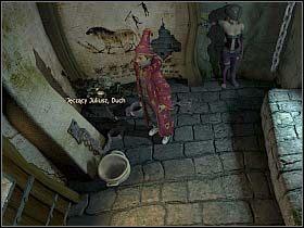 Oczywiście bada zwój przez okulary deszyfrujące (w ekwipunku) - Uratować Magiczne Królestwo cz.5 - Simon the Sorcerer 4 - poradnik do gry