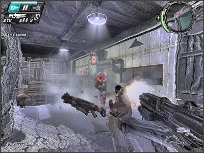 Pomieszczenie ochrony znajduje się po prawej stronie - Etap 5 - Ground Floor cz.1 - TimeShift - poradnik do gry