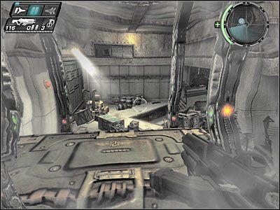 Wskocz na wyższą półkę, kucnij i przemieść się w lewo - Etap 5 - Ground Floor cz.2 - TimeShift - poradnik do gry