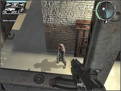 Mo�esz ju� zeskoczy� na d� - Etap 5 - Ground Floor cz.3 - TimeShift - poradnik do gry