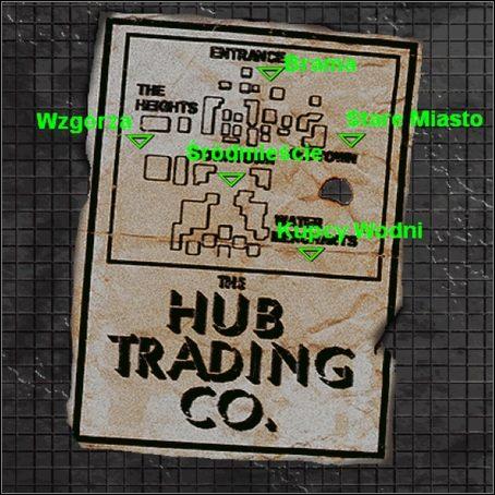 Trafiamy do Hub , najwi�kszego obok Gruz�w miasta w grze - Hub (1) - Opis przej�cia - Fallout - poradnik do gry