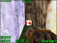Sekret #3: Kiedy znajdziemy się już w środku idąc niewielką ścieżką przy wodospadzie natrafimy na dodatkowe życie - 05: Księżycowe góry - Serious Sam: Pierwsze starcie - poradnik do gry