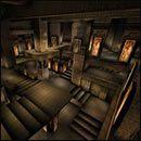 Zaczynamy w ciemnych korytarzach, dla większego utrudnienia jeszcze spowitych mgłą - 03: Grobowiec Ramzesa - Serious Sam: Pierwsze starcie - poradnik do gry
