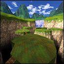 Na początku trzeba będzie przejść przez kolejne wzgórza, połączone ze sobą drewnianymi mostkami - 05: Księżycowe góry - Serious Sam: Pierwsze starcie - poradnik do gry