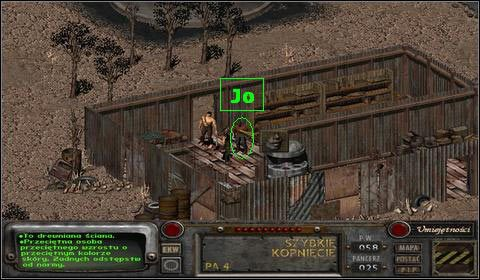 Zleca nam on zbadanie Nawiedzonej farmy , kt�ra le�y na p�nocnym-wchodzie od Modoc - Modoc (1) - Opis przej�cia - Fallout 2 - poradnik do gry