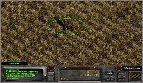 Z rozmowy z przyw�dc� �u�lowc�w wynika, �e Karl, gdy zobaczy� kuk�y, pomy�la�, �e s� prawdziwe i uciek� na ich widok - Modoc (1) - Opis przej�cia - Fallout 2 - poradnik do gry