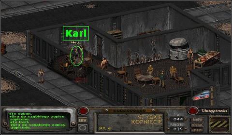 Stawiamy mu browar i prosimy by opowiedzia� nam swoj� histori� - Modoc (1) - Opis przej�cia - Fallout 2 - poradnik do gry