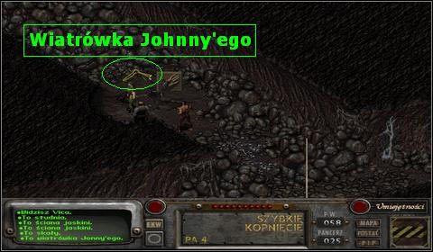 Możemy teraz udać się do Balthasa i wręczyć mu pukawkę syna - Modoc (2) - Opis przejścia - Fallout 2 - poradnik do gry