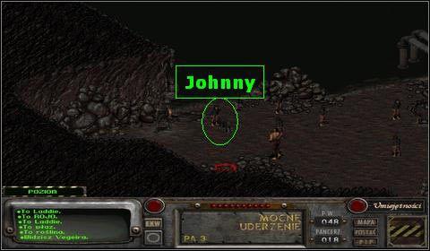 Znale�li�my tym samym Jonnego - Modoc (2) - Opis przej�cia - Fallout 2 - poradnik do gry