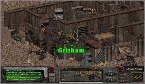 Po kr�tkiej pogaw�dce, poprosi nas on o pozbycie si� zgrai w�ciek�ych ps�w, kt�re co noc atakuj� jego stado bramin�w - Modoc (3) - Opis przej�cia - Fallout 2 - poradnik do gry