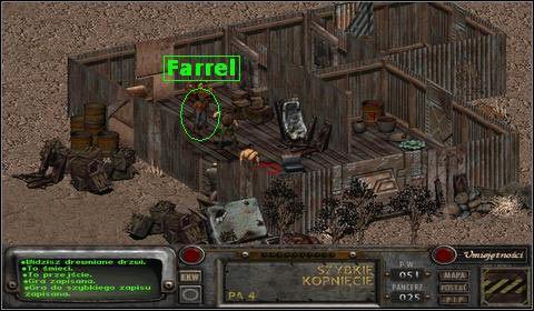Okazuje si�, �e ma on pewny problem - Modoc (3) - Opis przej�cia - Fallout 2 - poradnik do gry
