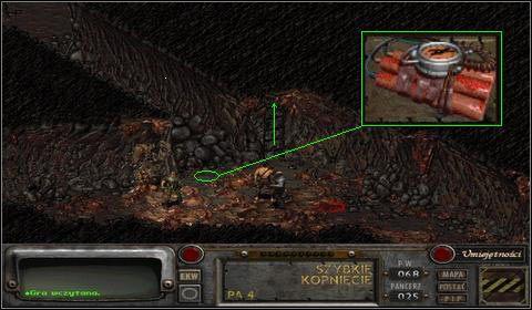 Wybiegamy teraz szybko z kibla po drabince - Modoc (3) - Opis przejścia - Fallout 2 - poradnik do gry