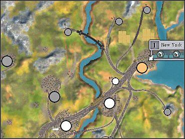 W miarę możliwości postaraj się zabudować tereny zlokalizowane na zachód od Nowego Jorku. Regularnie przystępuj też do licytacji, wykupując najcenniejsze fabryki. - 2. Północny wschód USA - wskazówki (2) - Scenariusze - Sid Meiers Railroads! - poradnik do gry