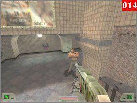 Potem wróć do pomieszczenia z ladą i przejdź przez drzwi po lewej, które wcześniej sobie otworzyłeś - Misja 01 - Nowy Jork - Opis przejścia - Soldier of Fortune - poradnik do gry