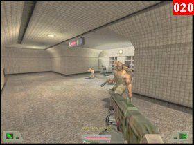 Zaraz na twoich oczach zostanie zabity policjant, wymierz sprawiedliwość dwóm delikwentom i wejdź na stopień, podejdź do schodów i wyeliminuj kolejnych dwóch - Misja 01 - Nowy Jork - Opis przejścia - Soldier of Fortune - poradnik do gry