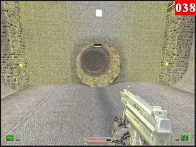 Następnie skorzystaj z drabiny znajdującej się w małym pomieszczeniu na końcu tunelu - Misja 03 - Kosowo 1 (1) - Opis przejścia - Soldier of Fortune - poradnik do gry