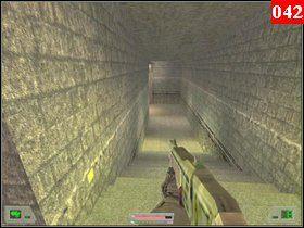 Następnie wejdź do tunelu po prawej i skorzystaj z znajdującej się tam drabiny - Misja 03 - Kosowo 1 (1) - Opis przejścia - Soldier of Fortune - poradnik do gry
