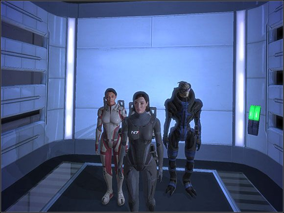 Kiedy już zwerbujemy Garrusa (patrz: 3 - [3. Cytadela] Zadania cz.1 - Mass Effect - PC - poradnik do gry