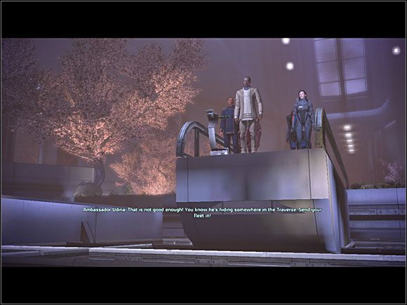 Zanim wyruszymy, musimy spotkać się z ambasadorem Udiną, który ma czekać na nas w dokach (C8 ) - [3. Cytadela] Zadania cz.1 - Mass Effect - PC - poradnik do gry