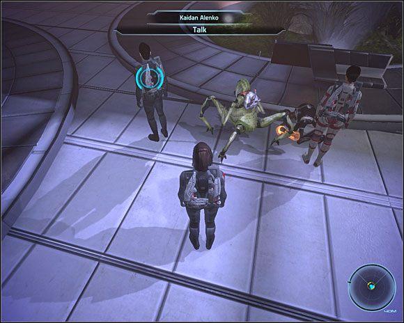 Gdy udamy się na górny Rynek, zaczepi nas Conrad Verner (C7-3 ), twierdząc, że jest naszym fanem, a następnie poprosi o autograf - [3. Cytadela] Zadania cz.2 - Mass Effect - PC - poradnik do gry