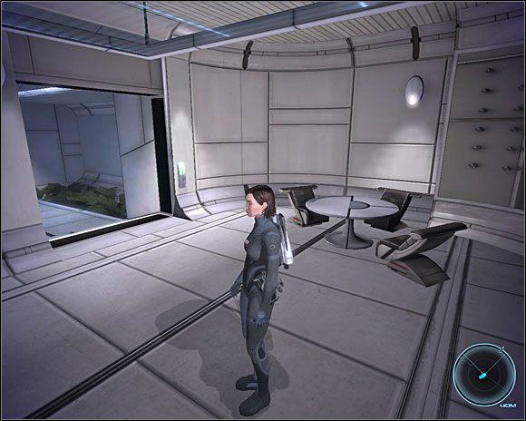 Na miejscu okazuje si�, �e za przesy�aniem pieni�dzy stoi zbuntowana SI - [3. Cytadela] Zadania cz.2 - Mass Effect - PC - poradnik do gry