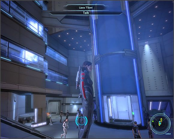 Znajdziemy go w biurze Akademii SOC (C3-1 ) - [3. Cytadela] Zadania cz.2 - Mass Effect - PC - poradnik do gry