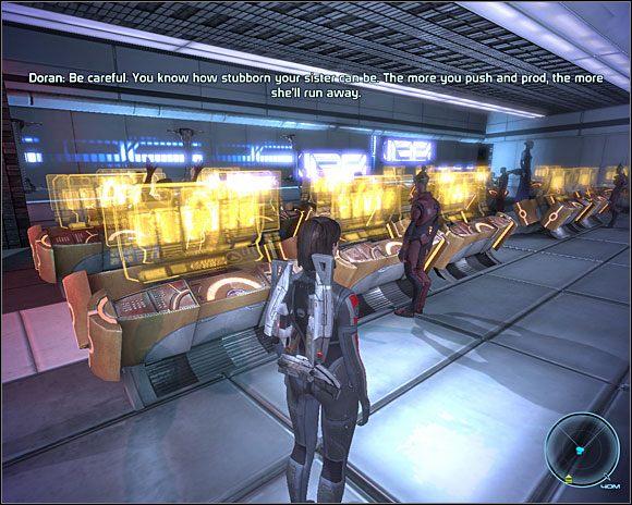 W poczekalni biur SOC-u (C3-2 ) us�yszymy pewn� ciekaw� rozmow� - [3. Cytadela] Zadania cz.3 - Mass Effect - PC - poradnik do gry