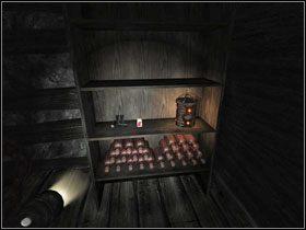 Cofnij się do poprzedniego pokoju, wyciągnij wszystkie kamienia z pudła i przesuń je - znajdziesz ukryte wejście w podłodze #1 - Opis przejścia (cz.1) - Rozdział - Penumbra: Przebudzenie - poradnik do gry