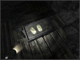 Na ścianie po lewej znajdziesz lampę naftową #1 - rozpal ją przy pomocy zapalniczki - Opis przejścia (cz.1) - Rozdział - Penumbra: Przebudzenie - poradnik do gry