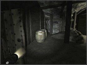 Udaj się do Materiałów wybuchowych, gdzie znajdziesz beczkę TNT #1 - Opis przejścia (cz.2) - Rozdział - Penumbra: Przebudzenie - poradnik do gry