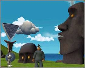 2 - Episode 2 - Moai Better Blues (cz.3) - Sam & Max: Beyond Time and Space - poradnik do gry