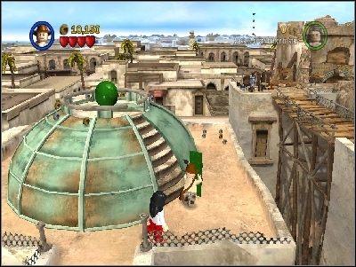 Znajdziesz się na tarasie - Chapter 3 - City of Danger (cz.2) - Poszukiwacze Zaginionej Arki - LEGO Indiana Jones: The Original Adventures - poradnik do gry