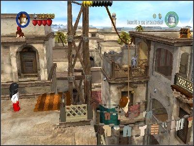 Przejdź na drugą stronę - Chapter 3 - City of Danger (cz.3) - Poszukiwacze Zaginionej Arki - LEGO Indiana Jones: The Original Adventures - poradnik do gry