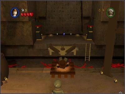Znajdziesz się w pomieszczeniu pełnym węży - Chapter 4 - The Well of Souls (cz.1) - Poszukiwacze Zaginionej Arki - LEGO Indiana Jones: The Original Adventures - poradnik do gry