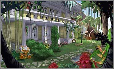Blondynka zagaduje więc ogrodnika, który skarży się na dokuczliwe mszyce - musi co chwilę ściągać je z krzaków róż - Śródmieście | Rozdział pierwszy - So Blonde: Blondynka w opałach - poradnik do gry