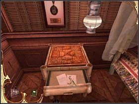 Tak więc Holmes wyjmuje je kolejno i instaluje w układance - [Opis przejścia] Część druga (4) - Sherlock Holmes: Tajemnica Mumii - poradnik do gry