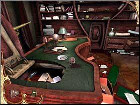 Sherlock opuszcza sypialnię i wraca do gabinetu lorda Montcalfe'a - [Opis przejścia] Część druga (4) - Sherlock Holmes: Tajemnica Mumii - poradnik do gry